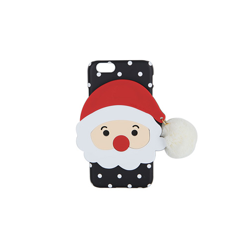 Dabagirl Santa Claus Pom-Pom Dotted iPhone Case
