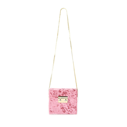 Dabagirl Velvet Square Crossbody Bag