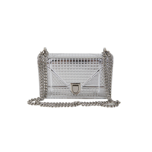 Dabagirl Textured Rectangle Chain Shoulder Bag