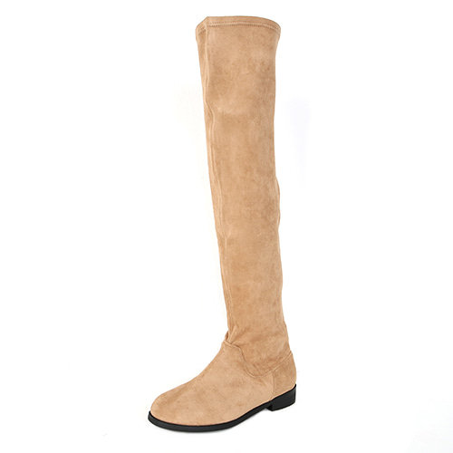 Dabagirl Faux Suede Knee High Boots