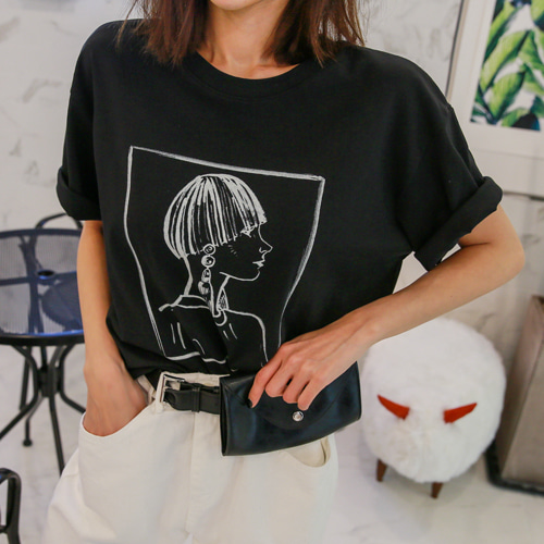 Dabagirl Short Sleeve Loose Fit T-Shirt