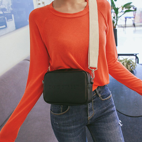Dabagirl Solid Tone Square Crossbody Bag