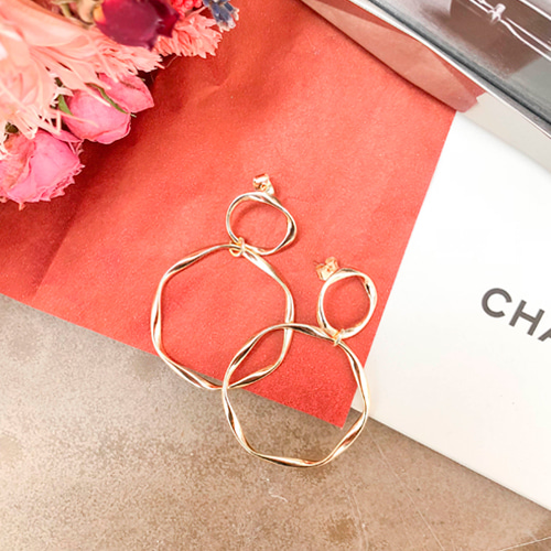 Dabagirl Double Hoop Earrings