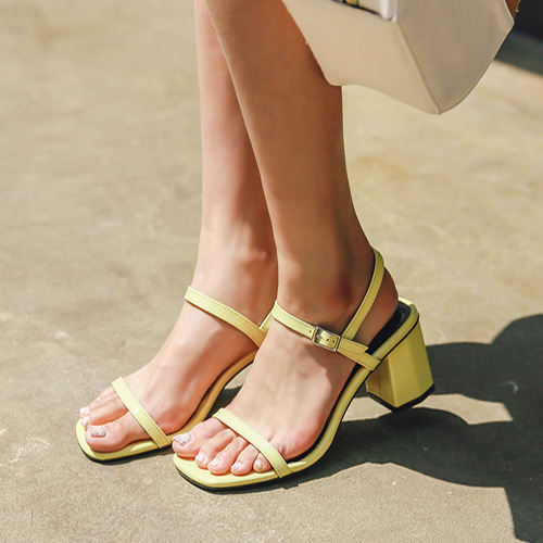 Dabagirl Chunky Heeled Sandals