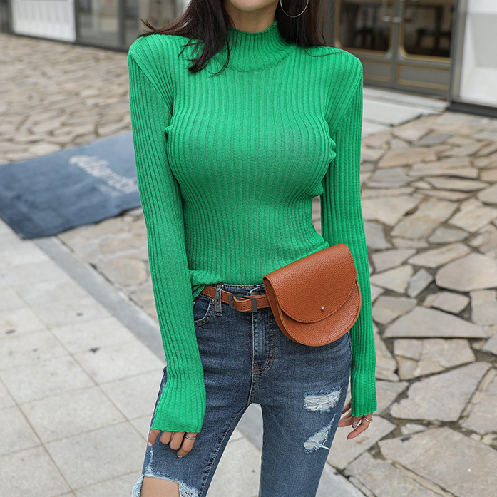 Dabagirl Ribbed Extended Sleeve Knit Top