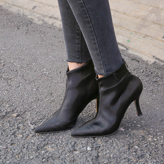 Dabagirl Pointed Toe Booties