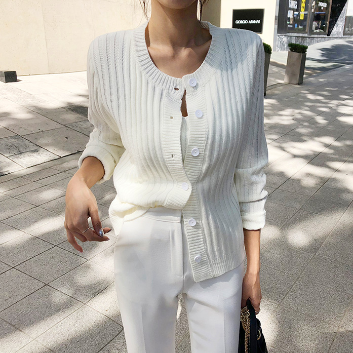 Dabagirl Ribbed Sleeveless Knit Top and Cardigan Set
