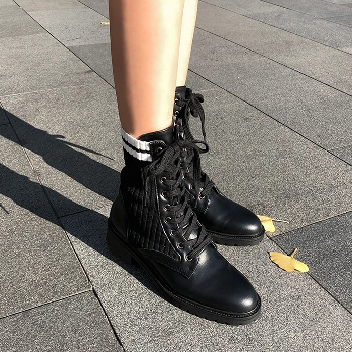 Dabagirl Lace-Up Ankle Boots