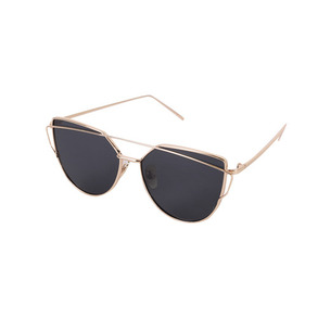 Dabagirl Front Bar Oversized Sunglasses