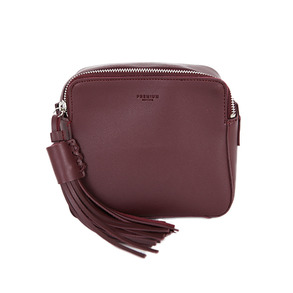 Dabagirl Tasseled Leatherette Square Mini Bag