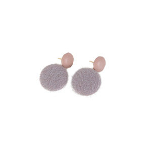 Dabagirl Pom-Pom Ball Earrings