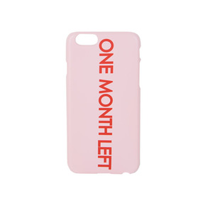 Dabagirl ONE MONTH LEFT iPhone Case