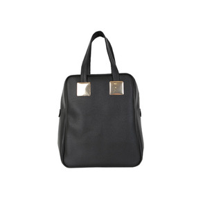 Dabagirl Pebbled Large Square Shoulder Bag