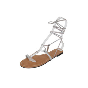 Dabagirl Flat Lace-Up Gladiator Sandals