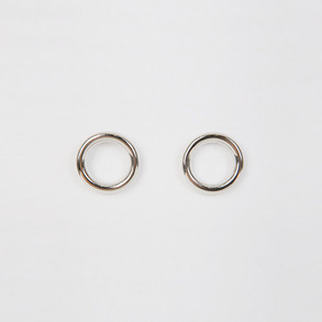 Dabagirl Simple Push-Back Hoop Earrings