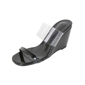 Dabagirl Double-Strap Wedge Sandals