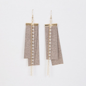 Dabagirl Faux Crystal Drop Earrings