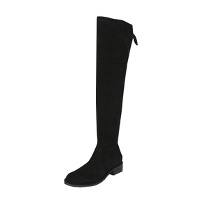 Dabagirl Faux Suede Thigh High Boots