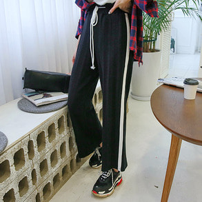 Dabagirl Tie-Waist Loose Fit Sweatpants
