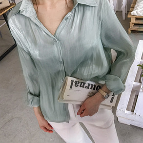 Dabagirl Silky Loose Fit Blouse
