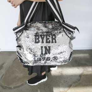 Dabagirl Lettering Sequin Bag