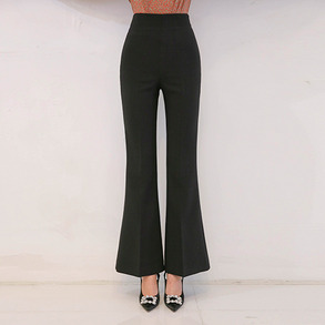 Dabagirl Side Zip High Waist Pants
