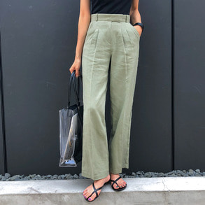 Dabagirl High Waist Pleated Pants
