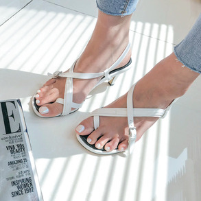 Dabagirl X-Strap Toe Loop Sandals