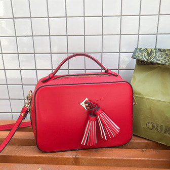 Dabagirl Tassel Square Bag