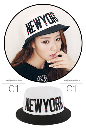 Dabagirl NEW YORK Bucket Hat