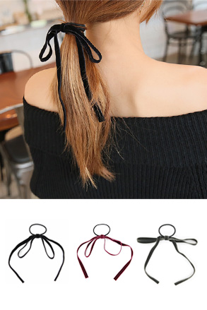 Dabagirl Ribbon Hair Tie