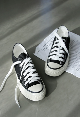 Classic Lace Up Canvas Sneakers