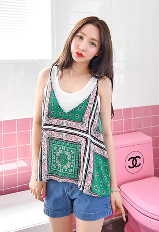 Ethnic Loose Fit Camisole