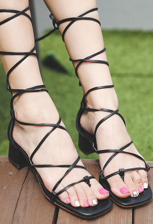 Square Toe Gladiator Sandals