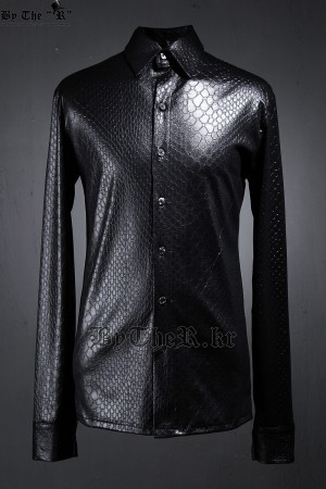 ByTheRByTheR Python Pattern Press Shirts