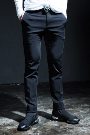 ByTheRByTheR Satin Slim Fit Slacks