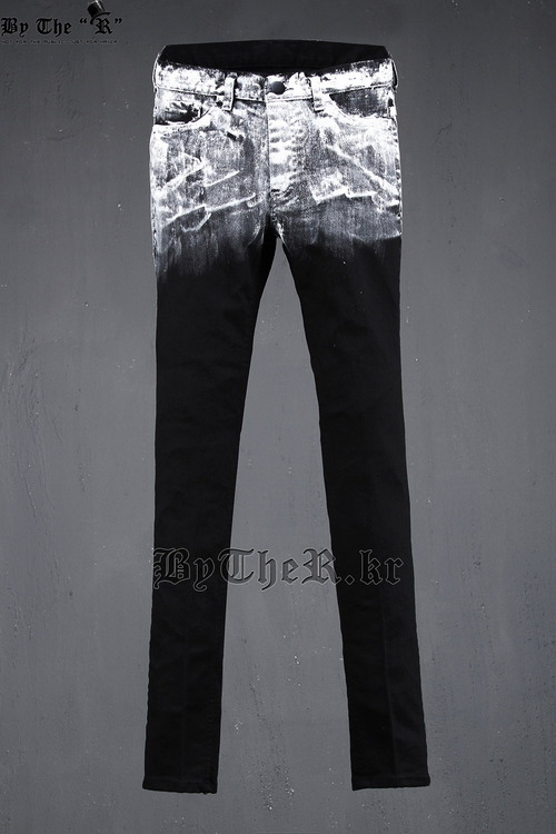 ByTheRByTheR White Painted Jean