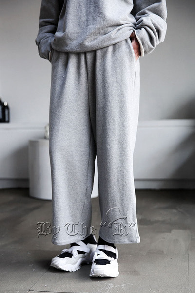ByTheRByTheR Cotton Training Wide Pants