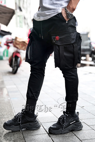 ByTheRTechwear Zip Pocket Cut Jogger Pants
