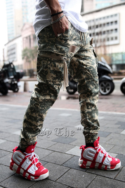 ByTheRDigital Military Cargo Jogger Pants