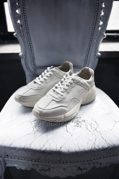 ByTheRClean Liton Leather Sneakers