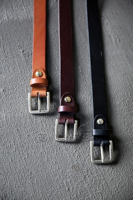 ByTheRPouch Layered Leather Belt