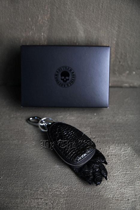 ByTheRByTheR Croco Foot Detail Wallet Keyring