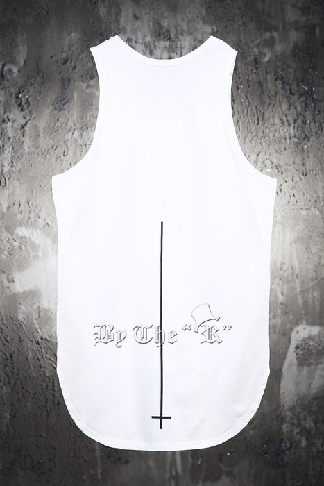 ByTheRByTheR X ProjectR Cross Layered Sleeveless Tank Top