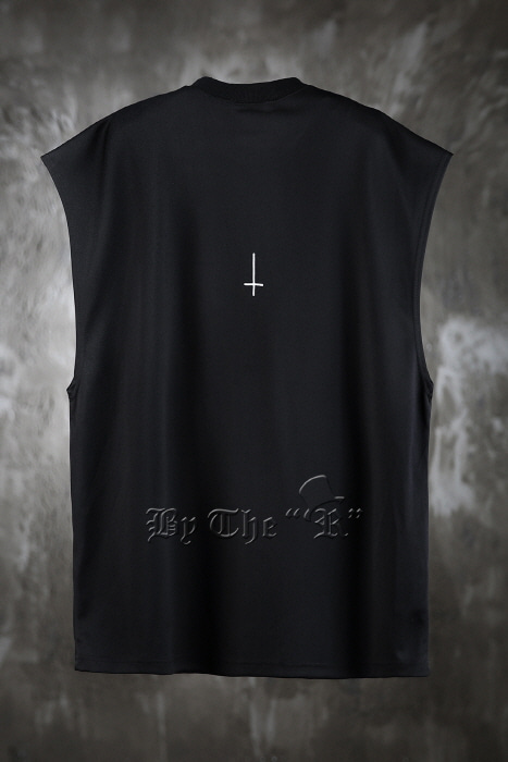ByTheRProjectR Ventilate Spandex Cross Tank Top