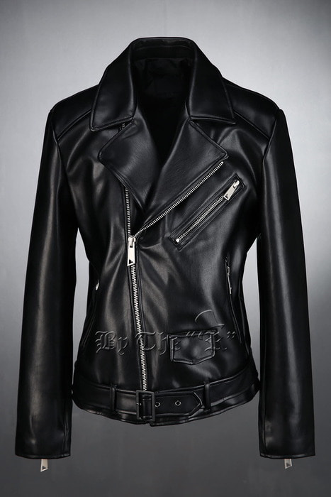 ByTheRSoft Leather Rider Jacket