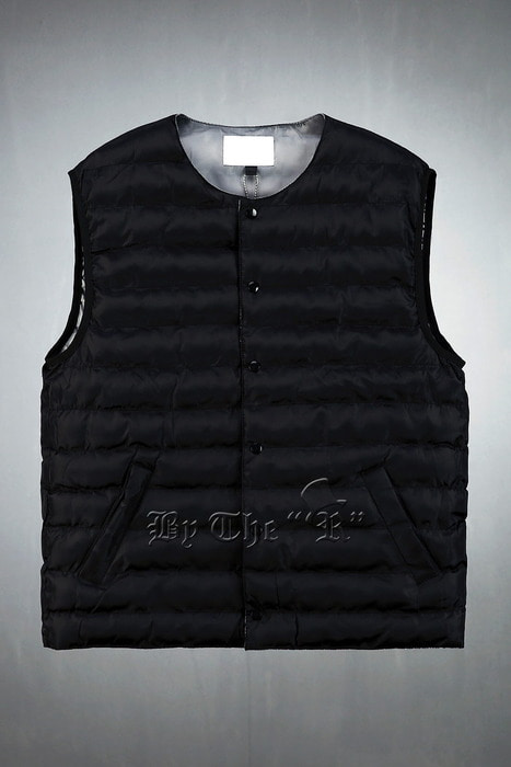 ByTheRSnap Button Wellon Padded Vest
