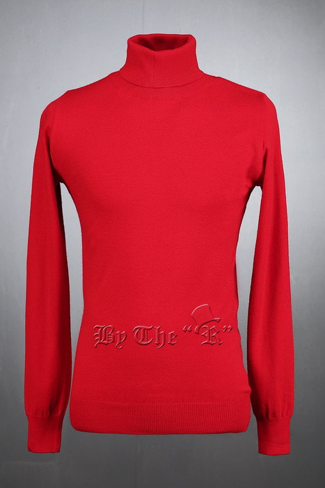 ByTheRBasic Polo Neck Vivid Sweatshirts