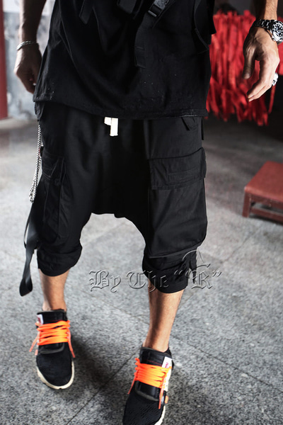 ByTheRByTheR Baggy 3/4 Cargo Pants