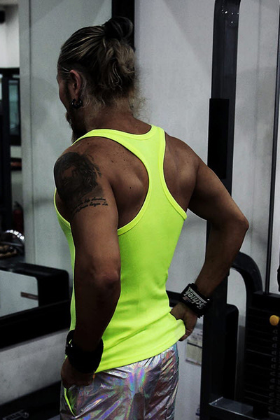 ByTheRMB Mango Neon Color Tank Top